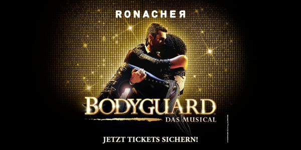 Bodyguard - Das Musical Sujet © The Bodyguard (UK) Ltd.