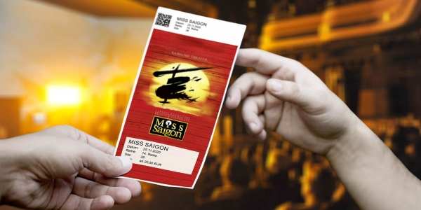 Miss Saigon - Design Ticket ©WIEN-TICKET
