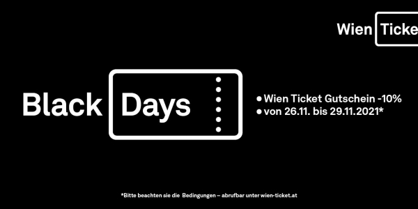 Black Days 2020 © WIEN-TICKET