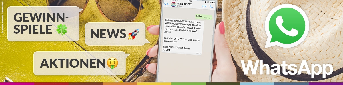 WhatsApp Service ©WIEN-TICKET