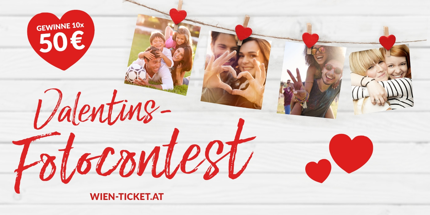 WIEN-TICKET Fotocontest Valentinstag 2019 ©WIEN-TICKET