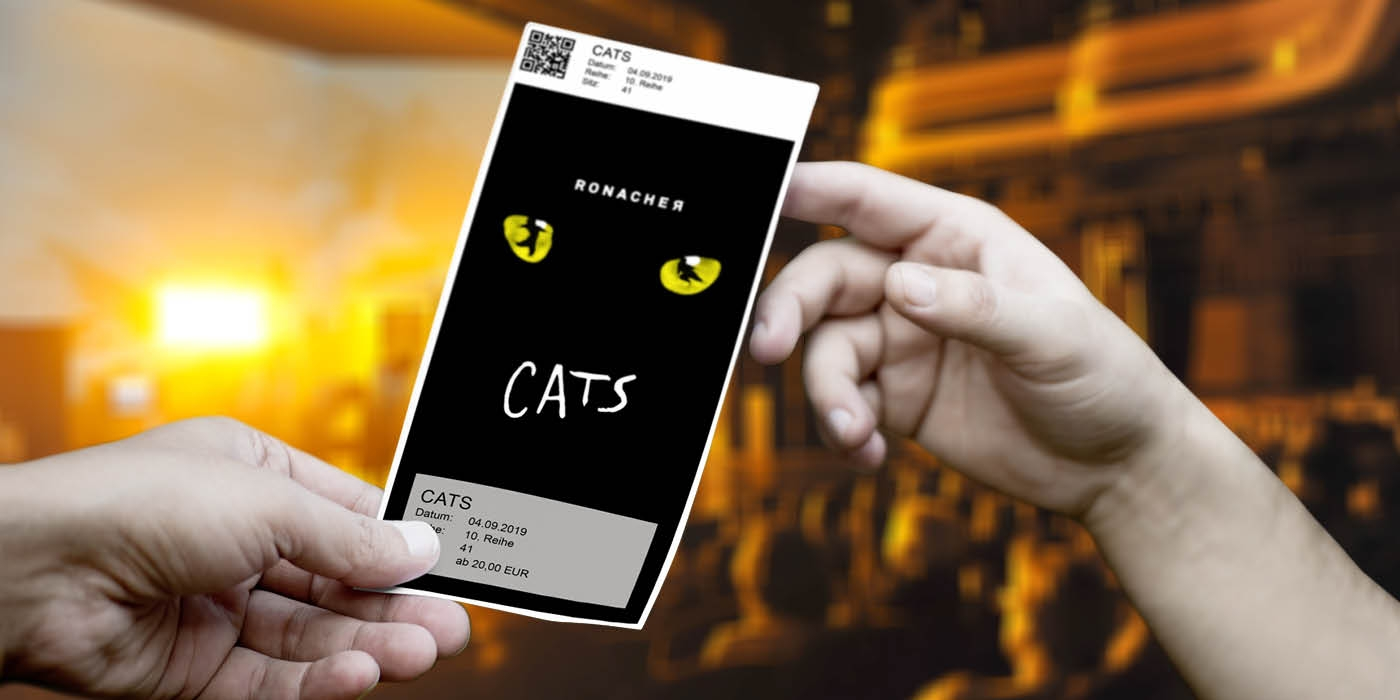 CATS - Design Ticket ©WIEN-TICKET
