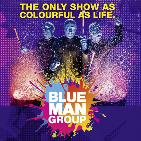 Blue Man Group © Live Nation Austria GmbH