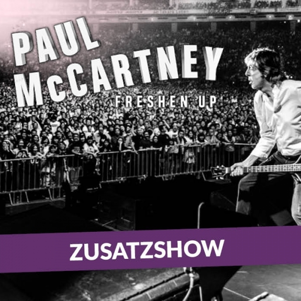 Paul McCartney 2018, Zusatzshow © Barracuda Music GmbH