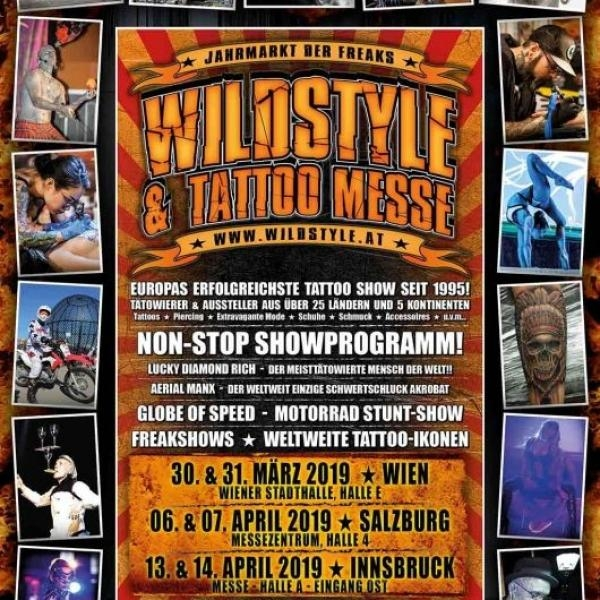 Wildstyle und Tattoo Messe © Mike Auer
