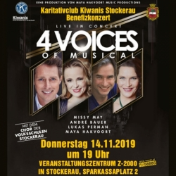 4 Voices of Musical © KIWANIS