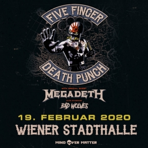 Five Finger Death Punch 2020 © Barracuda Music GmbH