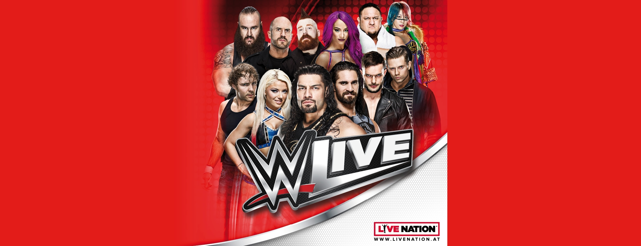 WWE Live 2018 © Live Nation Austria GmbH