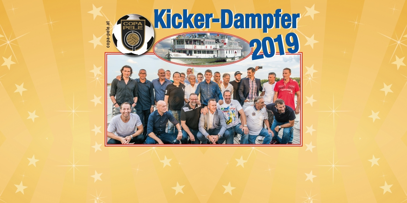 Kicker-Dampfer © COPA Pele