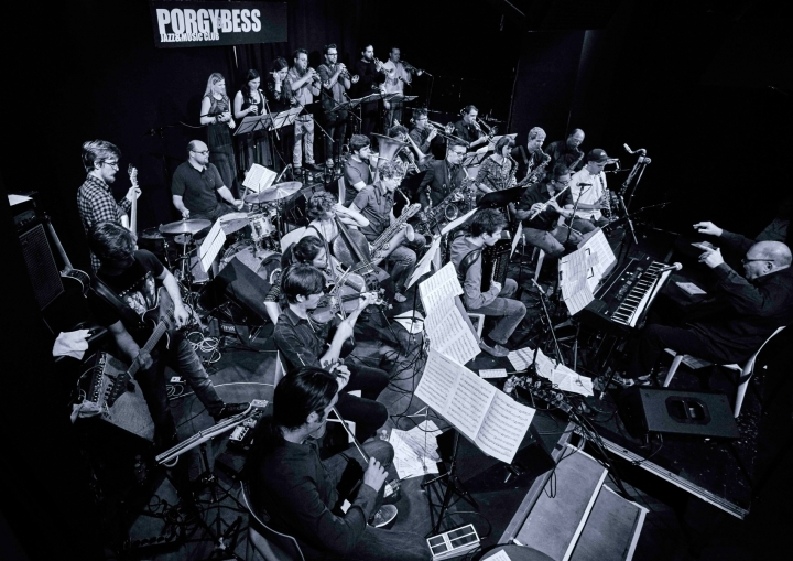 Christoph Cech Jazz Orchestra Project © Porgy & Bess
