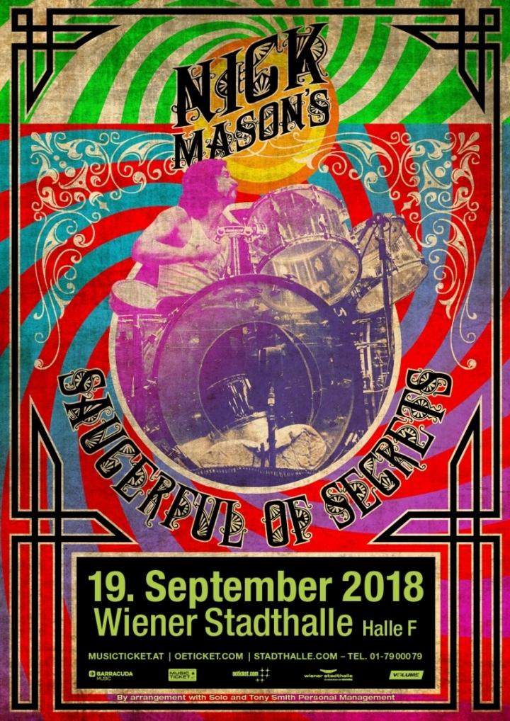Nick Mason's Saucerful of Secrets © Barracuda Music GmbH