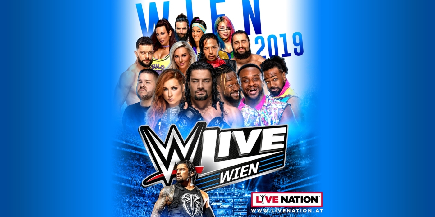 WWE Live 2019 © Live Nation Austria