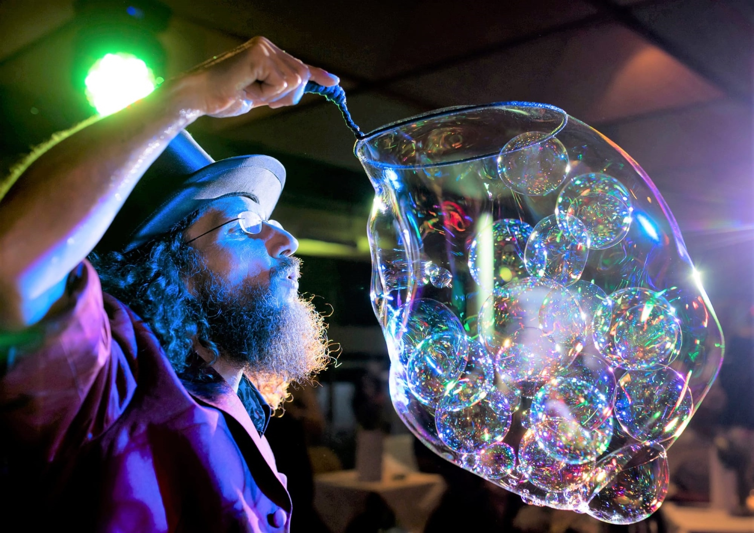 Bubble Show - Dr. Bubbles © Thorsten Vincetic