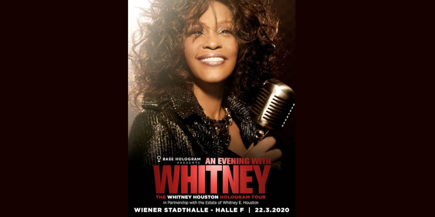 An Evening with Whitney © Barracuda Music GmbH