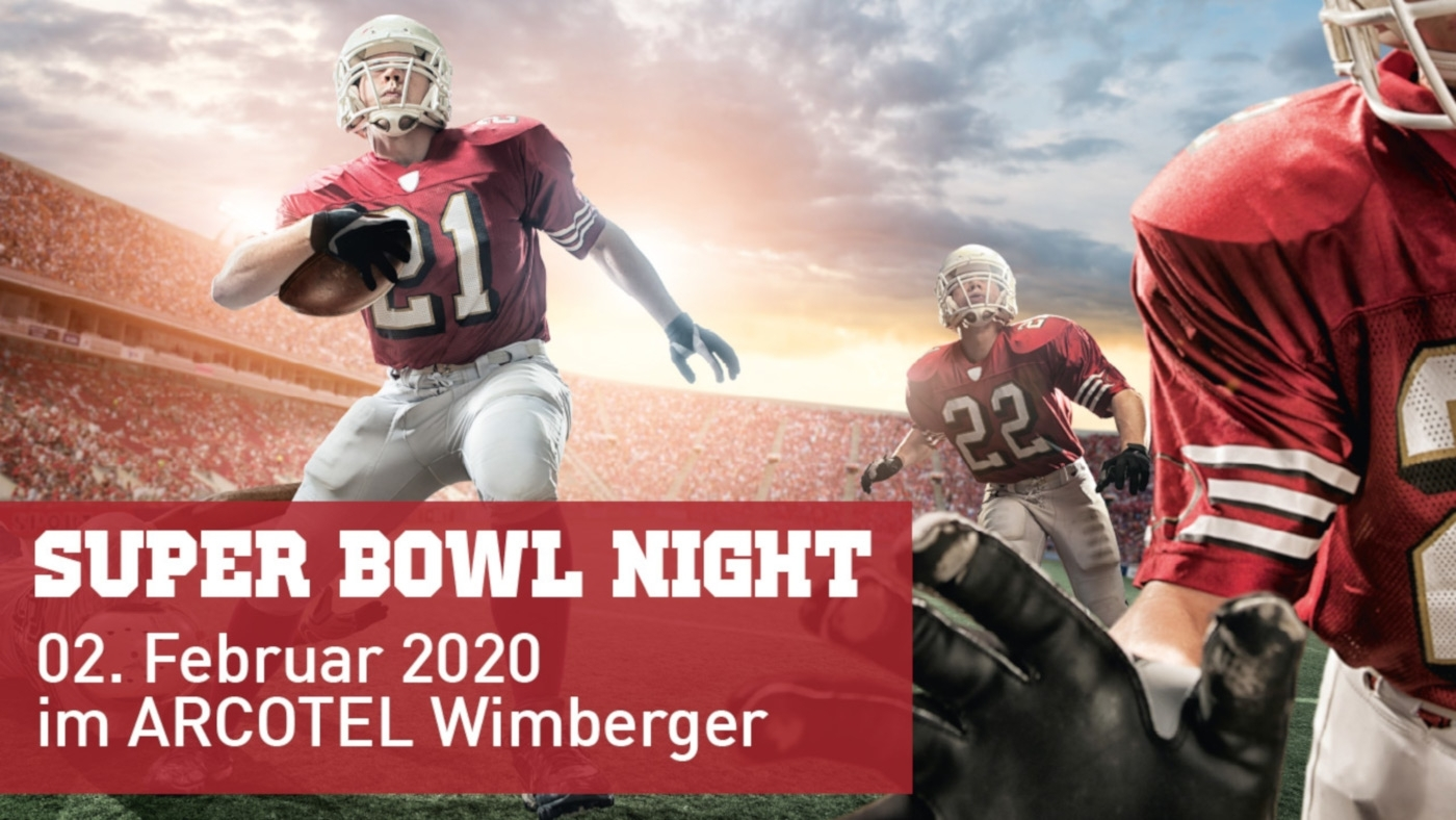 Super Bowl Night 2020 © Arcotel Wimberger
