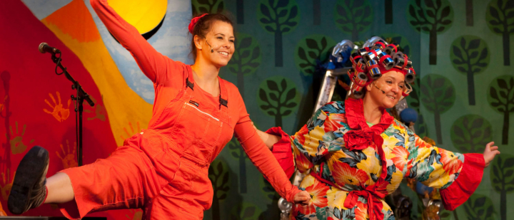 Die Geggis © schmetterlinge-kindertheater.at